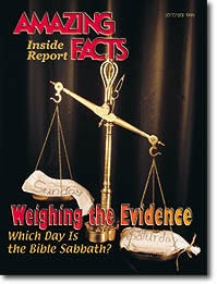 Weighing The Evidence - Which day is the Bible Sabbath?